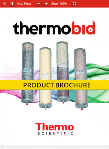 Thermo Scientific Barnstead Hose Nipple Cartridges Product Brochure
