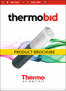 Thermo Scientific Deionizer Cartridges Product Brochure