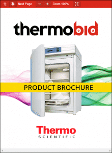 Thermo Scientific Forma Series II Water-Jacketed CO2 Incubators Product Brochure