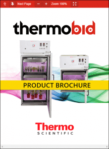 Thermo Scientific Forma Vertical Light Chambers Product Brochure