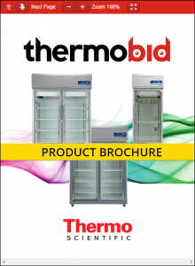 Thermo Scientific TSX Series High-Performance Chromatography Refrigerators Product Brochure