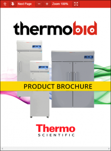 Thermo Scientific TSX Series -30°C High-Performance Auto Defrost Freezers Product Brochure