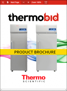 Thermo Scientific TSX Series -20°C High-Performance Manual Defrost Freezers Product Brochure